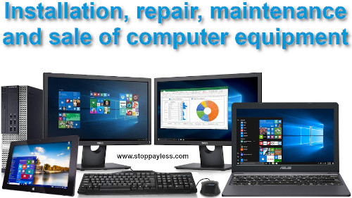 Computer Sales, installation, maintenance and repair of computers in White Plains New York